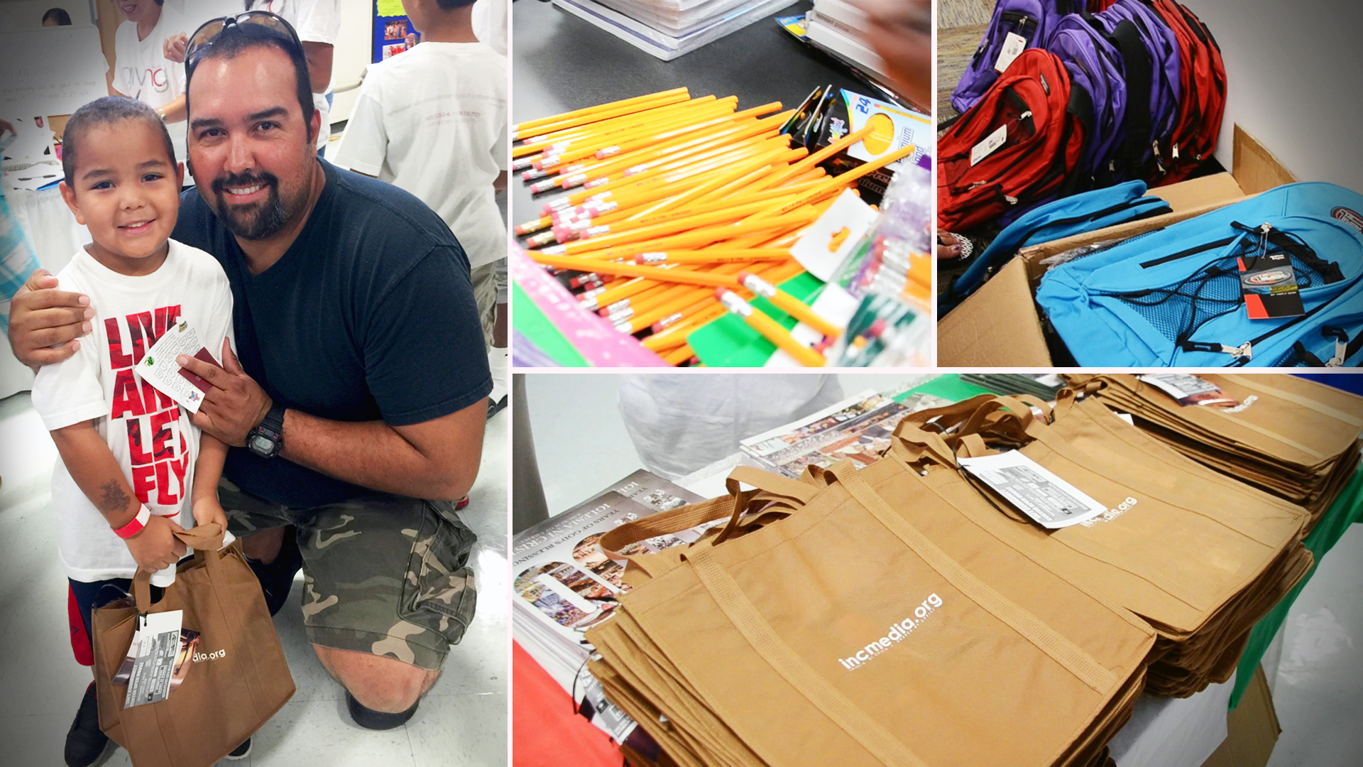 In Focus: INC Giving Volunteers Help Families Get Ready for the School Year