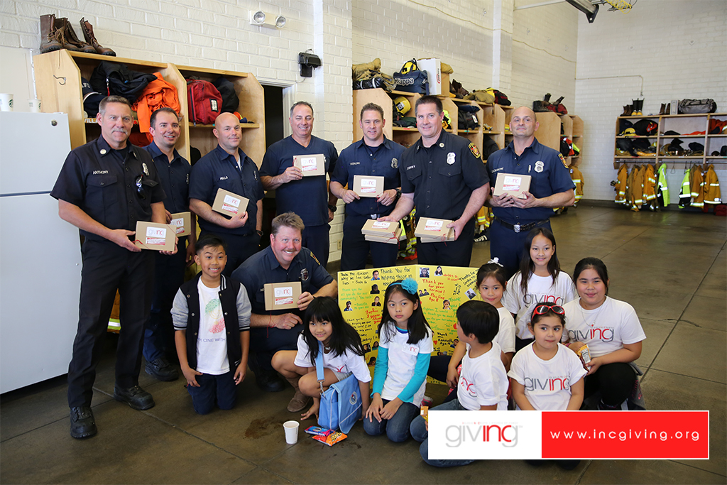 Community Connection: 'Gratitude Attitude' Shared with Local Heroes
