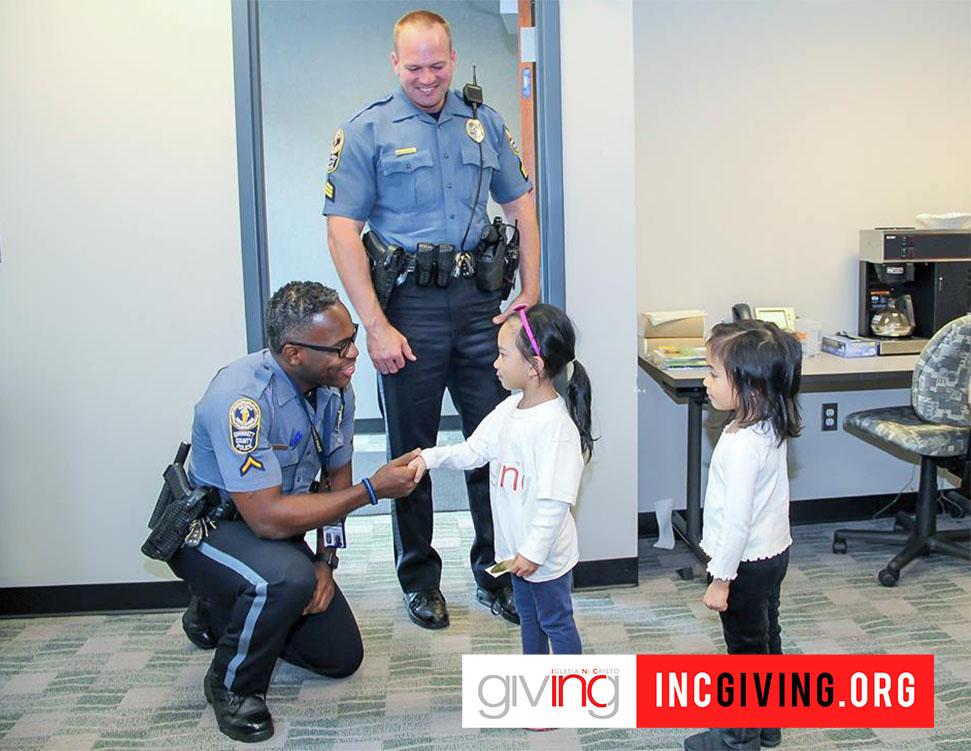 Community Connection: INC of North Atlanta Honor Policemen of Gwinnett County