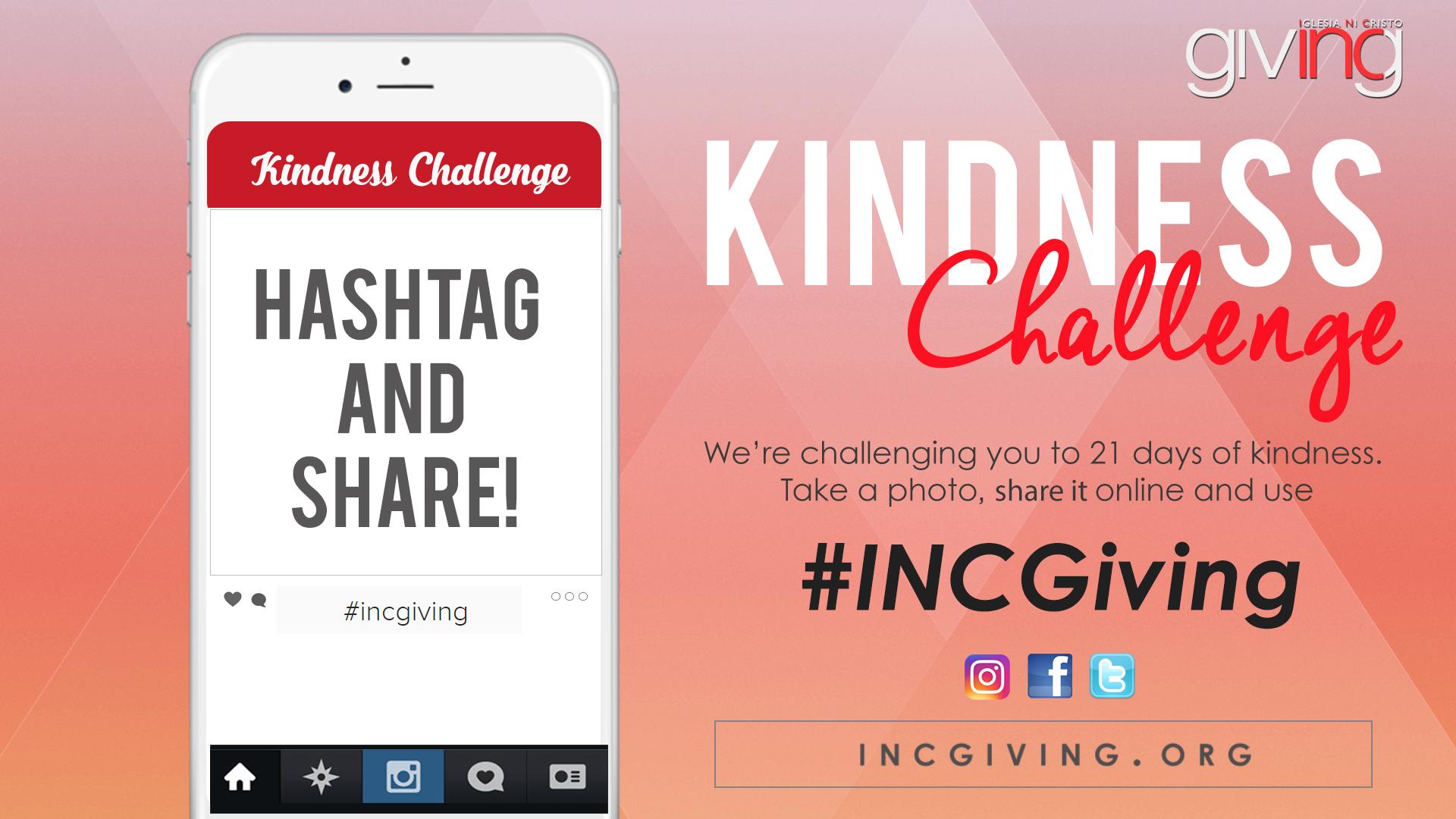 INCGiving Kindness Challenge