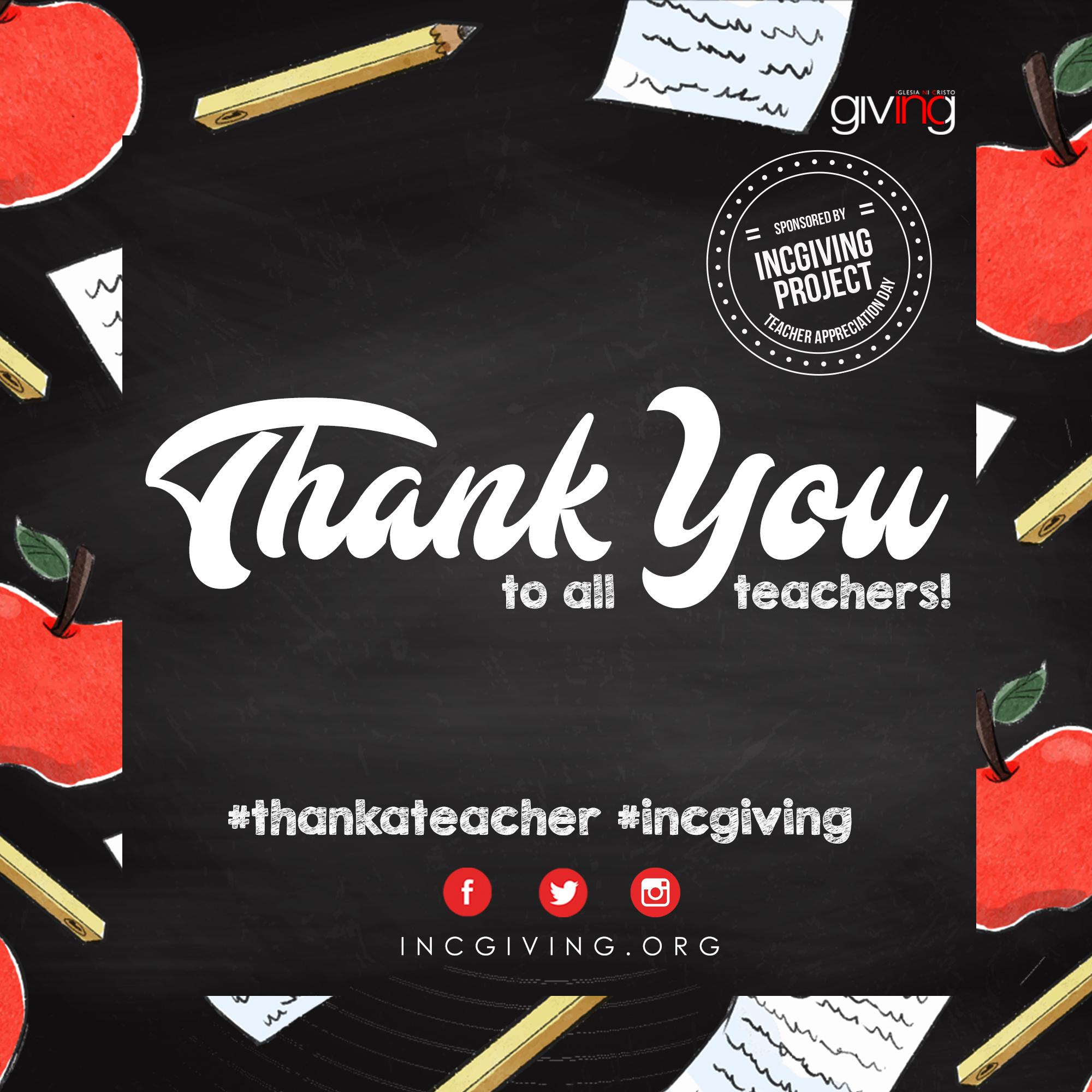 Teacher Appreciation Everyday