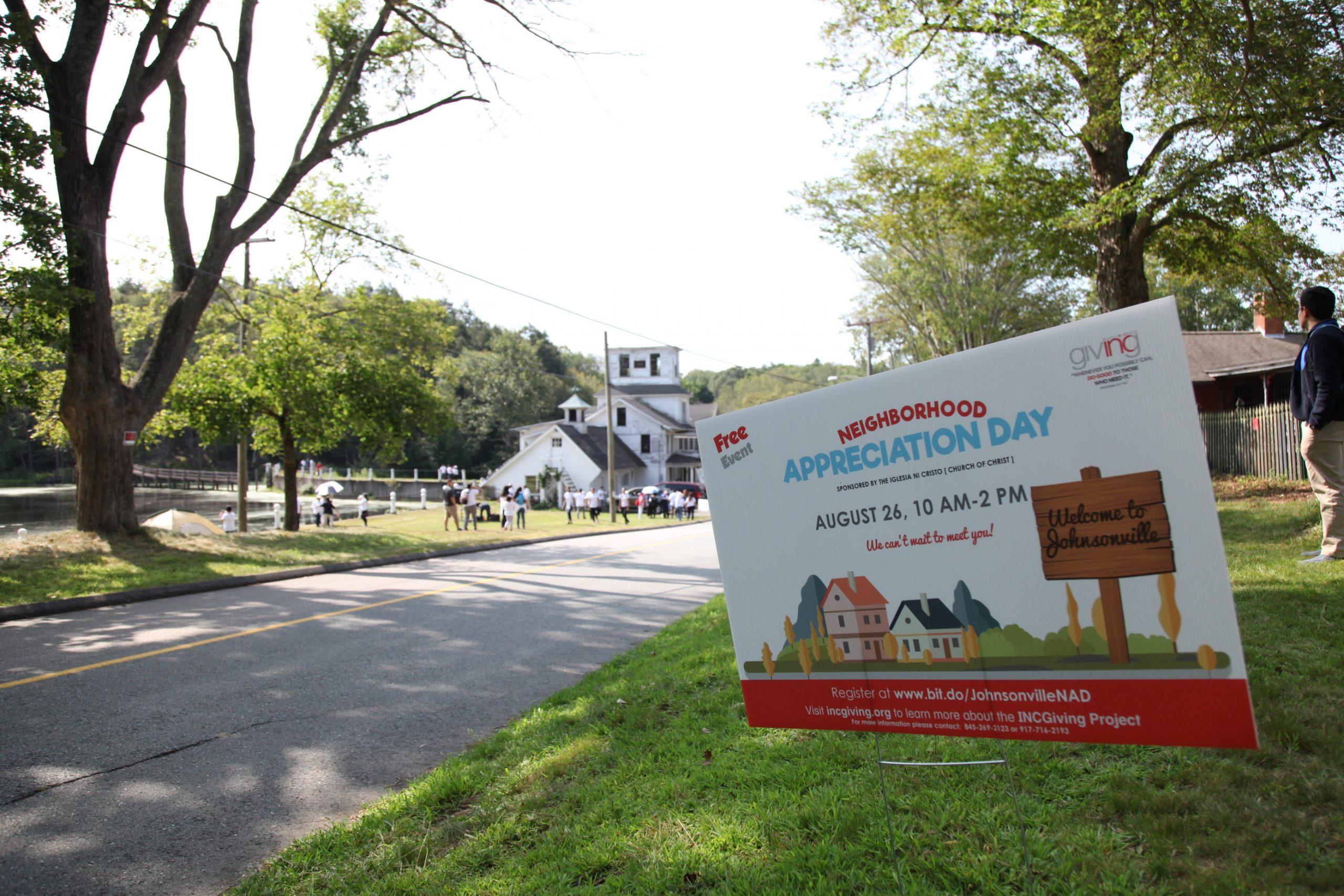 Neighborhood Appreciation Day in Johnsonville, Connecticut