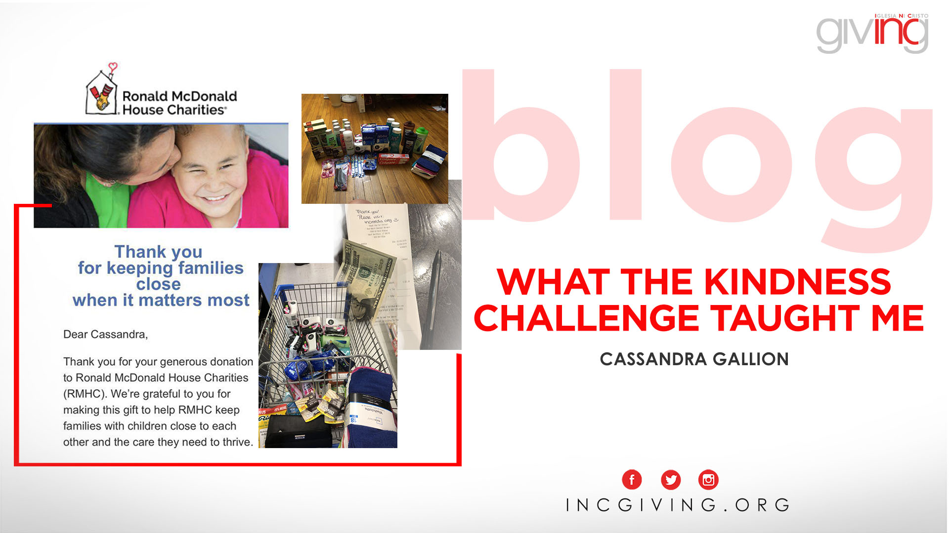 What I Learned from the Kindness Challenge
