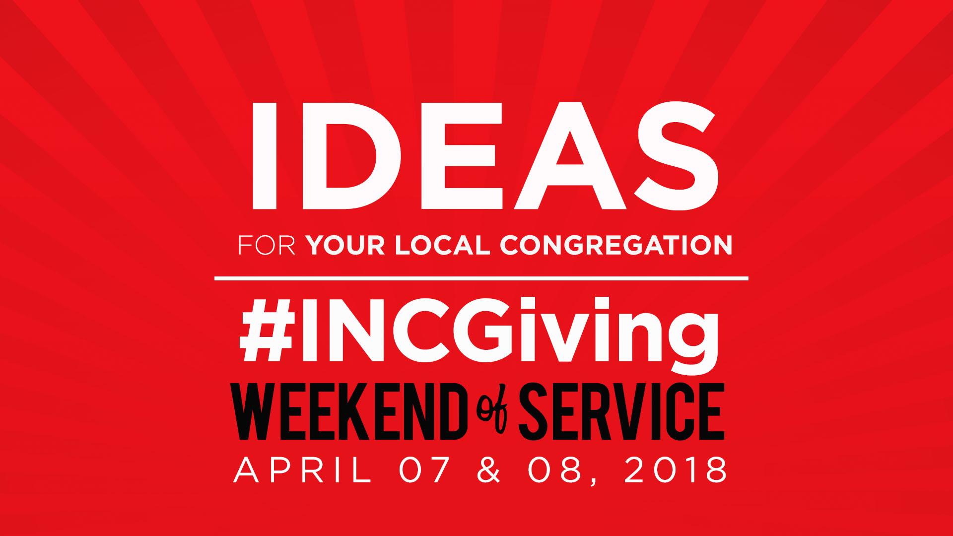 Ideas for Your Local Congregation